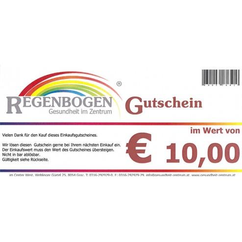 Geschenkgutschein € 10,-