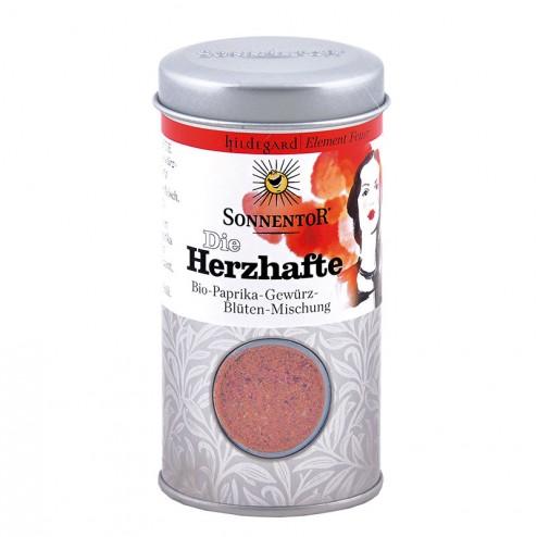 Die Herzhafte Gewürz-Blüten-Mischung Hildegard (Feuer) bio, Streudose 32 g