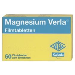 Magnesium Verla Filmtabletten-50 Stück