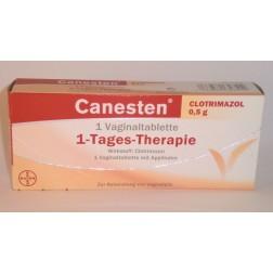 Canesten Clotrimazol 0,5g-Vaginaltabletten 1 Stück
