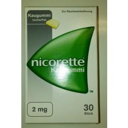 Nicorette Kaugummi 2mg-105 Stück-ohne Geschmack