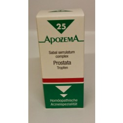 Apozema Prostata-Tropfen Nr. 25