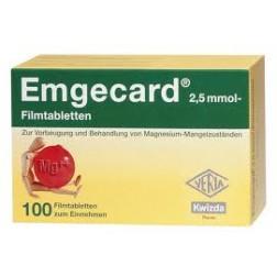 Emgecard 2,5mmol Filmtabletten-25 Stück