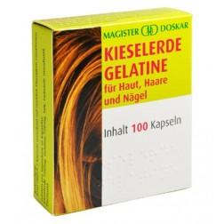 Doskar Kieselerde Gelatine 100 Kapseln