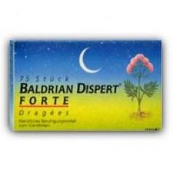 Baldrian Dispert Forte Dragees-75 Stück