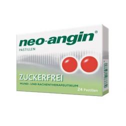 Neo-Angin Pastillen zuckerfrei-24 Stück