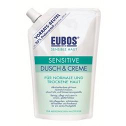 Eubos Sensitive Dusch & Creme Nachfüllung 400ml
