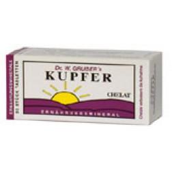 Dr. Grubers Kupfer Chelat Tabletten 50 Stück