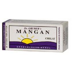 Dr. Grubers Mangan Chelat Tabletten 50 Stück