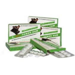 Dr. Grubers Power Magnesium Gum 12 Stück