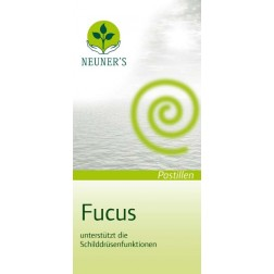 Neuner's Fucus Pastillen