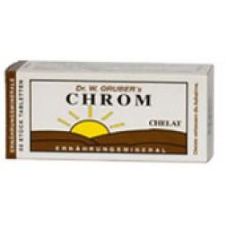 Dr. Grubers Chrom Chelat Tabletten 50 Stück