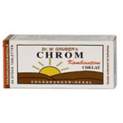 Dr. Grubers Chrom Chelat Kombi Tabletten 50 Stück