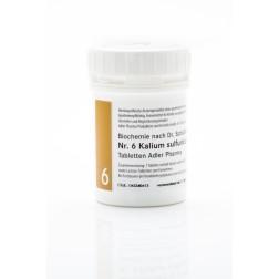 Schüßler Salz Adler  Nr. 6 D6 Tabletten