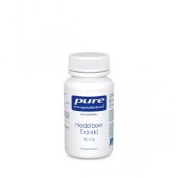 Pure Encapsulation Heidelbeer Extrakt 60 Kapseln