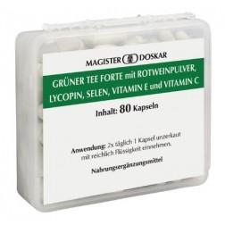 Doskar Grüner Tee Forte 80 Kapseln