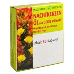Doskar Nachtkerzenöl plus Gelee Royale 80 Kapseln
