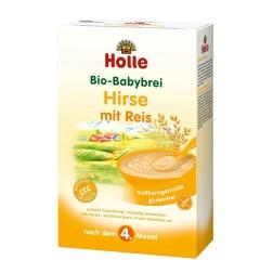 Holle Bio Hirsebrei mit Reis glutenfrei