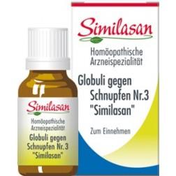 Globuli Similasan gegen Schnupfen Nr. 3