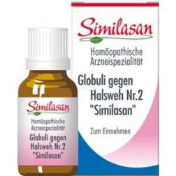 Globuli Similasan gegen Halsweh Nr. 2