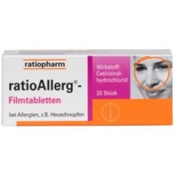 RatioAllerg Filmtabletten-20 Stück
