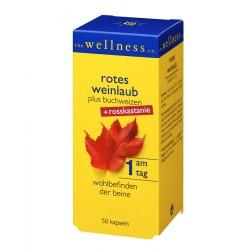 Wellness Rotes Weinlaub