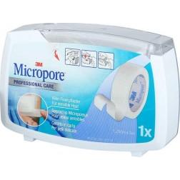 3M Micropore Dispenser 12,5 mm x 5 m 1Stk.