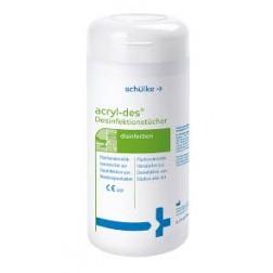 Acryl-Des Schnelldesinfektionsmittel Tücher 120 Stück