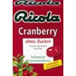 Ricola Cranberry in Box 50g