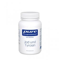 Pure Encapsulation Jod und Thyrosin 60 Kapseln