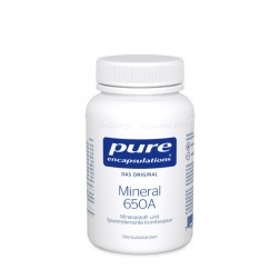 Pure Encapsulation Mineral 650A Kapseln