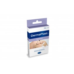Dermaplast Sensitive 10cm Streifen 10 Stück