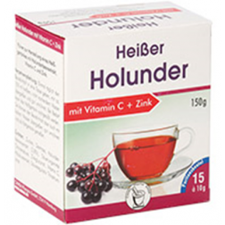 CANEA HEISSER HOLUNDER +VITAMIN C +ZINK 10g 15 Stk.
