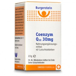 Burgerstein Coenzym Q10 Lutschtabletten 100 Stück