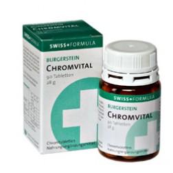 Burgerstein Chrom Vital Tabletten 90 Stück