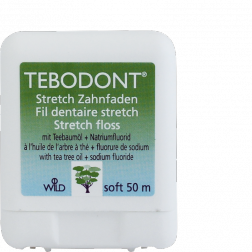 Tebodont Zahnseide stretchfloss 50m