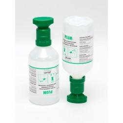 Augenspülflasche befüllt mit 500ml Kochsalzlösung