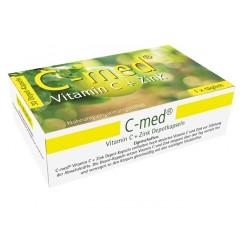 C-Med Vitamin C + Zink Depotkapseln-60 Stück