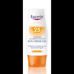 Eucerin Sonnenschutz bei Allergie Creme-Gel LSF 25 150ml