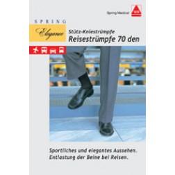 Herren-Strümpfe für die Reise 70den marine Größe 42/43