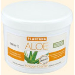Plantana Aloe Vera Körper-Creme 500ml