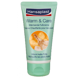 Hansaplast Warm & Care Fußcreme 75ml