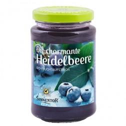 Sonnentor Die charmante Heidelbeere, Fruchtaufstrich bio, 250 g
