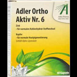 Adler Ortho Kapseln Nr.6 60 Stück
