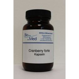 Cranberry Forte Kapseln Bioflora Ehrmed