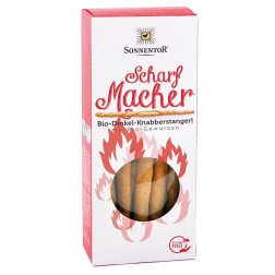 Sonnentor Scharfmacher Dinkel-Knabberstangerl bio, 100 g