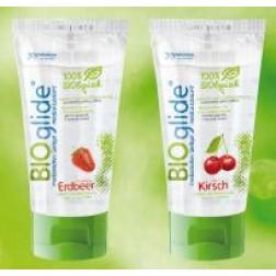 Bioglide Gleitgel Geschmack 80ml-Erdbeer