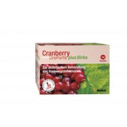 Biogelat Cranberry Uro Forte plus Birke 14 Stk.