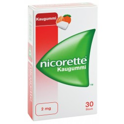 Nicorette Kaugummi 2mg-105 Stück-Freshfruit
