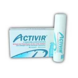 Activir plus Dimethicon Fieberblasencreme Tube